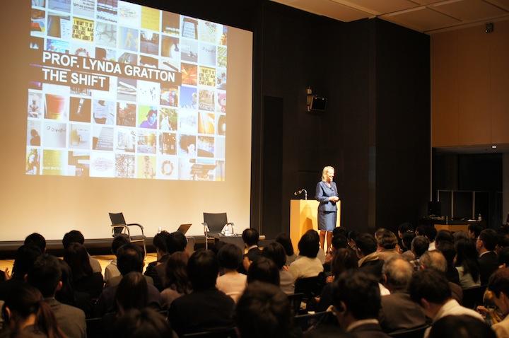 『ワーク・シフト』著者 リンダ・グラットン教授来日記念セミナー、フォトレポート