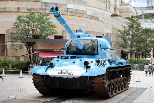プロモーションで戦車を使うための裏話