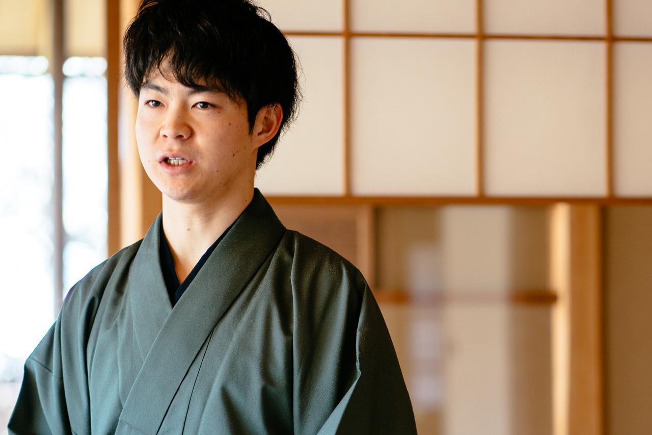 Ryo Iwamoto, speaking